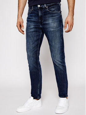 Calvin Klein Jeans Calvin Klein Jeans Slim Tapes džíny Ckj 058 J30J317662 Tmavomodrá Slim Taper Fit