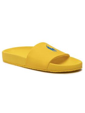 Polo Ralph Lauren Polo Ralph Lauren Παντόφλες Cayson 816830742010 Κίτρινο