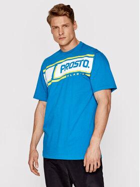 PROSTO. PROSTO. T-shirt KLASYK Hama 1091 Bleu Regular Fit
