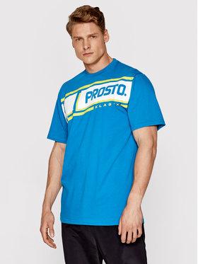 PROSTO. PROSTO. T-Shirt KLASYK Hama 1091 Modrá Regular Fit
