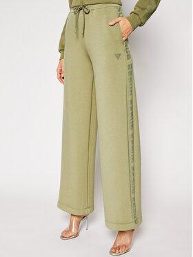 Guess Guess Pantaloni din material Scuba O1RA57 K7UW0 Verde Oversize