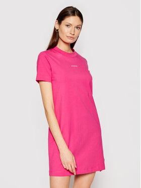 Calvin Klein Jeans Calvin Klein Jeans Sukienka codzienna J20J215654 Różowy Regular Fit