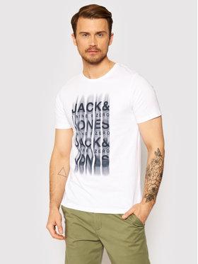 Jack&Jones Jack&Jones Tričko Bane 12195041 Biela Slim Fit