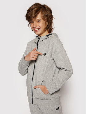 4F 4F Sweatshirt HJL21-JBLM001A Gris Regular Fit
