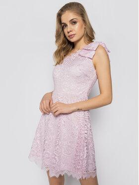 Guess Guess Коктейлна рокля Celia W0GK1L K96U0 Розов Slim Fit