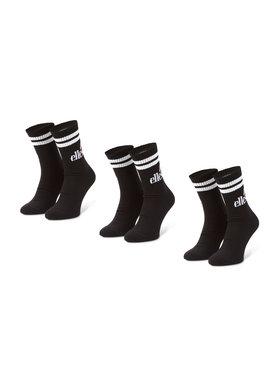 Ellesse Ellesse Sada 3 párů pánských vysokých ponožek Pullo SAAC0620 Černá