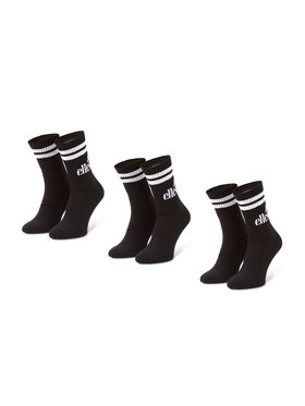 Ellesse Ellesse Σετ ψηλές κάλτσες ανδρικές 3 τεμαχίων Pullo SAAC0620 Μαύρο