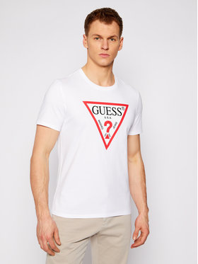 Guess Guess T-shirt M1RI71 I3Z11 Bianco Slim Fit
