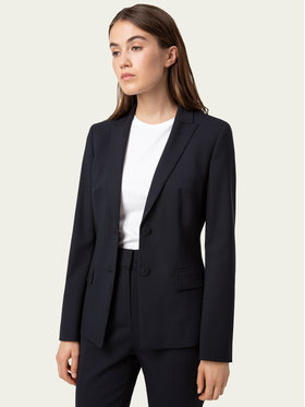 Hugo Hugo Blazer The Long-2 50440496 Dunkelblau Regular Fit