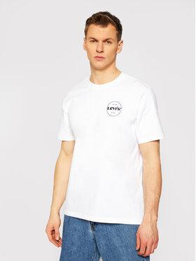 Levi's® Levi's® Marškinėliai Tee 16143-0106 Balta Relaxed Fit