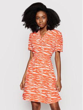 Calvin Klein Calvin Klein Rochie de vară K20K202962 Portocaliu Regular Fit