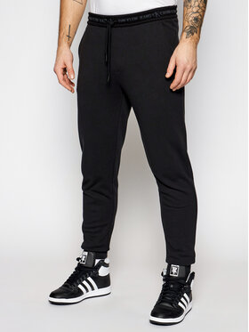 Calvin Klein Jeans Calvin Klein Jeans Pantaloni trening J30J317196 Negru Regular Fit