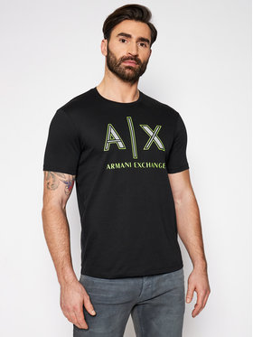 Armani Exchange Armani Exchange T-shirt 3KZTAF ZJ4JZ 1200 Noir Regular Fit