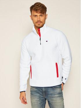 Champion Champion Polár kabát Half Zip C 215107 Fehér Custom Fit