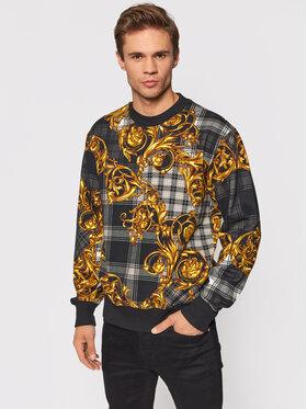 Versace Jeans Couture Versace Jeans Couture Суитшърт 71GAI3R6 Черен Regular Fit