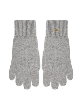 Tommy Hilfiger Tommy Hilfiger Ženske rukavice Th Lux Cashmire Gloves AW0AW10735 Siva