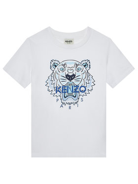 Kenzo Kids Kenzo Kids Тишърт K25115 D Бял Regular Fit