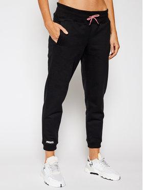 PROSTO. PROSTO. Teplákové kalhoty KLASYK Jenny 9257 Černá Regular Fit