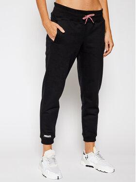 PROSTO. PROSTO. Teplákové nohavice KLASYK Jenny 9257 Čierna Regular Fit