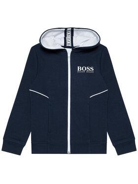 Boss Boss Spodnie dresowe J25M09 S Granatowy Regular Fit