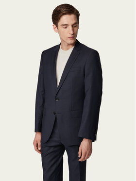 Boss Boss Kostiumas Huge6/Genius5 50411992 Tamsiai mėlyna Slim Fit
