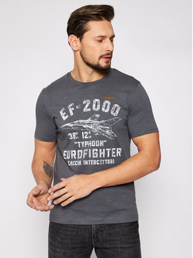 Aeronautica Militare Aeronautica Militare T-shirt 211TS1865J512 Siva Regular Fit