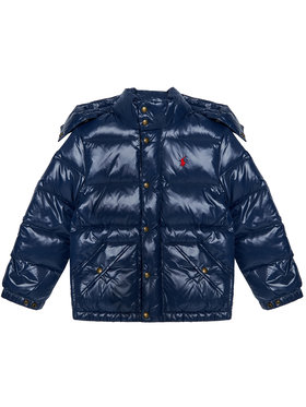 Polo Ralph Lauren Polo Ralph Lauren Pūkinė striukė Hawthorne 323795538001 Tamsiai mėlyna Regular Fit