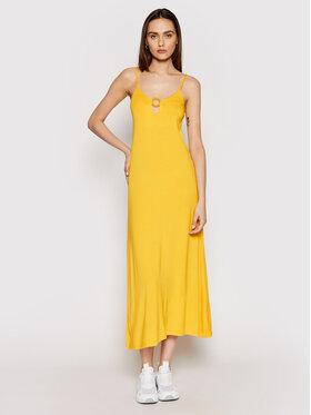 Emporio Armani Emporio Armani Sukienka letnia 262483 1P315 03862 Żółty Regular Fit
