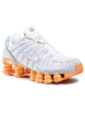 Nike Nike Обувки Shox Tl AR3566 101 Бял