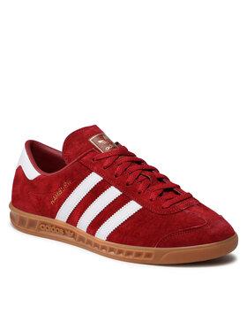 adidas adidas Buty Hamburg H01787 Czerwony