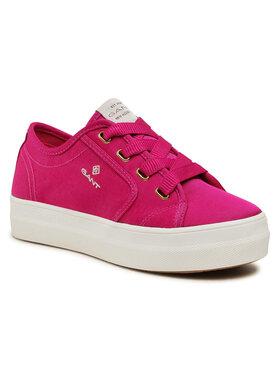 Gant Gant Tenisówki Leisha 22539564 Różowy