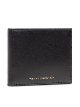Tommy Hilfiger Tommy Hilfiger Duży Portfel Męski Casual Leather Cc And Coin AM0AM07814 Czarny