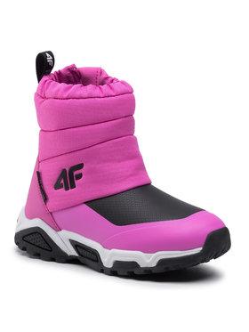4F 4F Bottes de neige HJZ20-JOBDW002 Rose