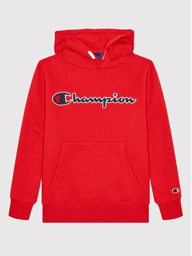 Champion Champion Mikina 305765 Červená Regular Fit