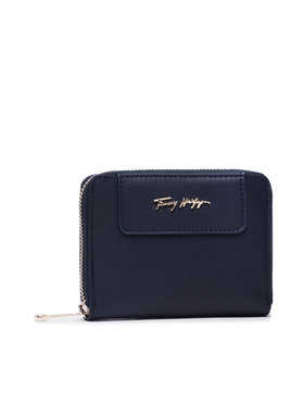 Tommy Hilfiger Tommy Hilfiger Великий жіночий гаманець Tommy Fresh Med Za Corp AW0AW10212 Cиній