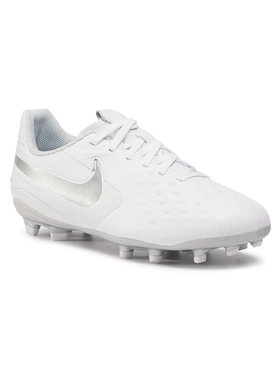 Nike Nike Обувки Legend 8 Academy Fg/Mg AT5732 100 Бял