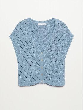 Mango Mango Bluză Polita 87059403 Albastru Regular Fit