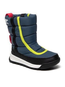Sorel Sorel Sniego batai Childrens Whitney™ II Puffy Mid Wp NC3873 Tamsiai mėlyna