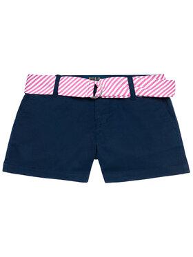 Polo Ralph Lauren Polo Ralph Lauren Bavlnené šortky Solid Chino 312834890001 Tmavomodrá Regular Fit