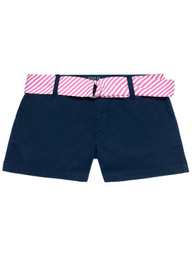 Polo Ralph Lauren Polo Ralph Lauren Medžiaginiai šortai Solid Chino 312834890001 Tamsiai mėlyna Regular Fit
