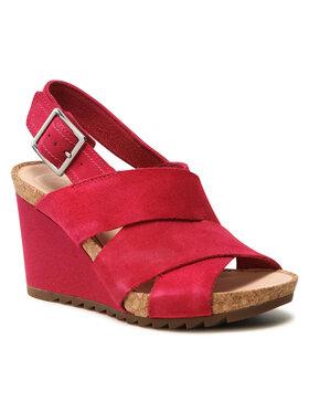 Clarks Clarks Sandále Flex Sand 261504364 Ružová