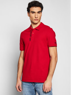 Guess Guess Polo M1RP54 K7O61 Κόκκινο Slim Fit
