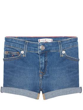 Tommy Hilfiger Tommy Hilfiger Pantaloni scurți de blugi Nora Basic KG0KG05773 D Albastru Skinny Fit