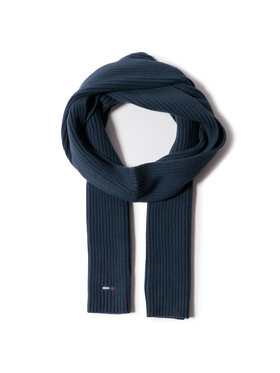 Tommy Jeans Tommy Jeans Πασμίνα Tjw Basic Flag Rib Scarf AW0AW09008 Σκούρο μπλε