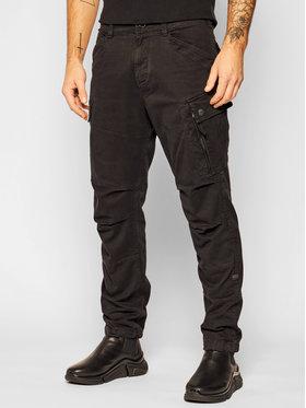 G-Star Raw G-Star Raw Bavlnené nohavice Roxic D14515-C096-B564 Čierna Regular Fit