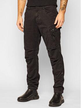 G-Star Raw G-Star Raw Bavlnené nohavice Roxic D14515-C096-B564 Čierna Straight Leg