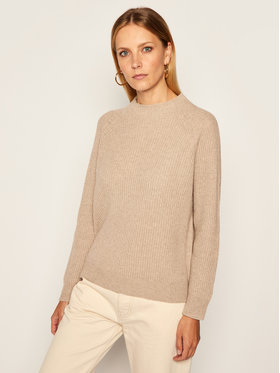 Max Mara Leisure Max Mara Leisure Sveter Rosalia 33660806 Hnedá Regular Fit