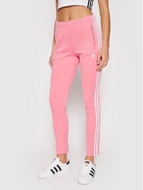adidas adidas Spodnie dresowe Primeblue SST Track H34581 Różowy Slim Fit