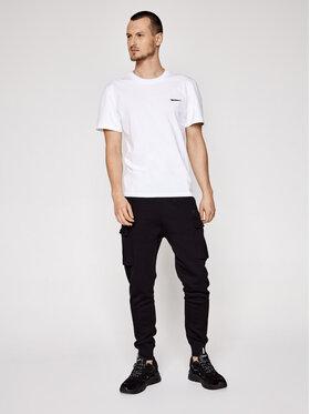 Sprandi Sprandi Spodnie dresowe SS21-SPM001 Czarny Regular Fit