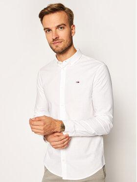 Tommy Jeans Tommy Jeans Koszula Oxford DM0DM09594 Biały Slim Fit